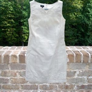 Talbots Petites Dress with Beading - Size 8P